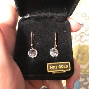 BRAND NEW 14 KT GOLD EARRINGS